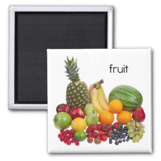 Imán del refrigerador de la fruta