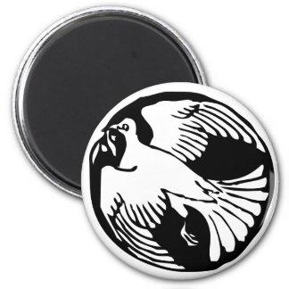 Imán del refrigerador de la paloma de la paz de la