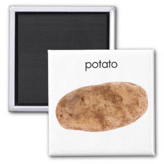 Imán del refrigerador de la patata