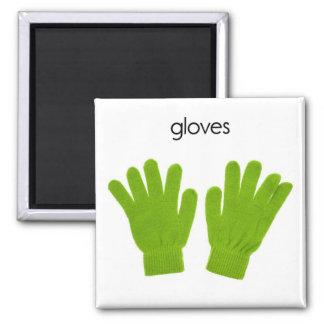 Imán del refrigerador de los guantes