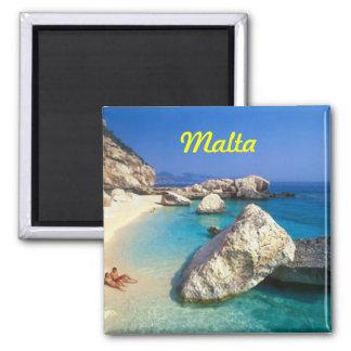 Imán del refrigerador de Malta