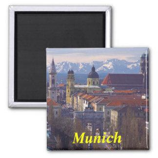 Imán del refrigerador de Munich