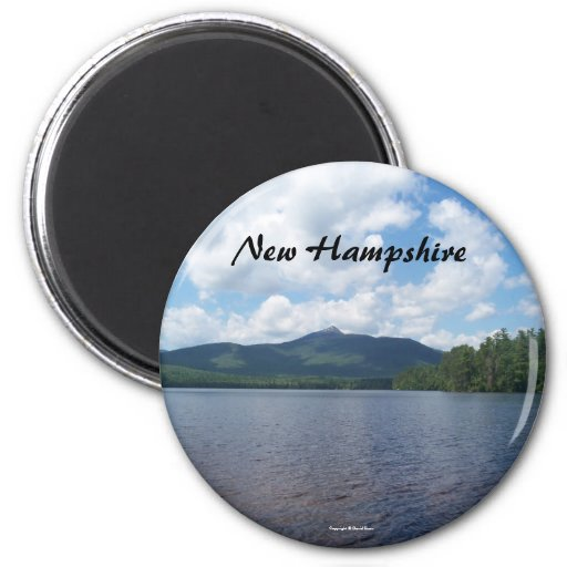 Imán del refrigerador de New Hampshire