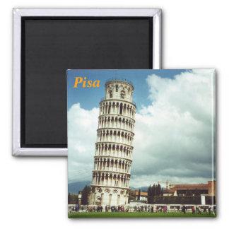 imán del refrigerador de Pisa