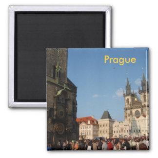 imán del refrigerador de Praga