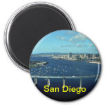 imán del refrigerador de San Diego