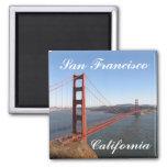 Imán del refrigerador de San Francisco California