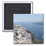 Imán del refrigerador de Santorini