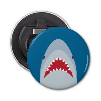 Imán del refrigerador del abrebotellas del tiburón abrebotellas redondo