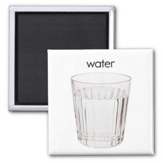 Imán del refrigerador del agua