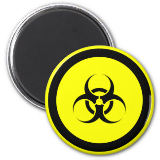 Imán del refrigerador del Biohazard