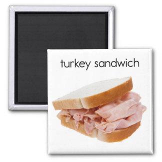 Imán del refrigerador del bocadillo de Turquía