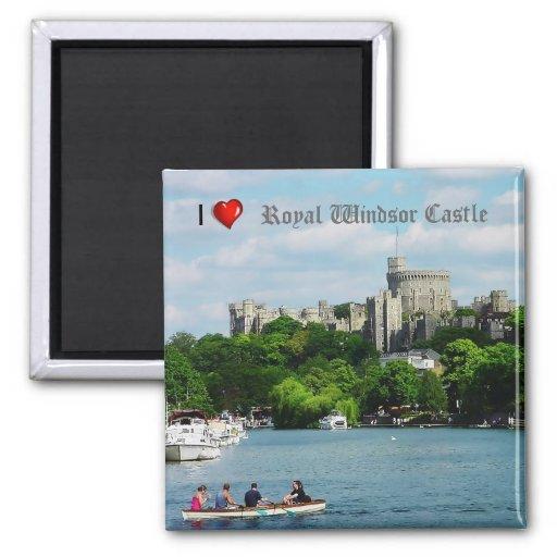 Imán del refrigerador del castillo de Windsor del