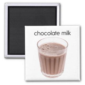 Imán del refrigerador del chocolate caliente