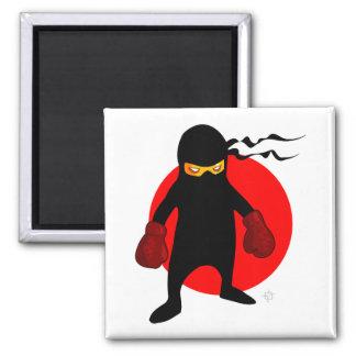 Imán del refrigerador del dibujo animado de Ninja