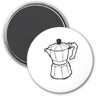 Imán del refrigerador del fabricante de café del