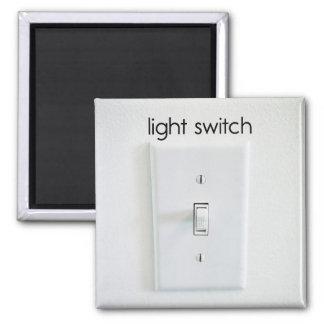 Imán del refrigerador del interruptor de la luz