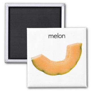 Imán del refrigerador del melón
