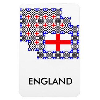 Imán del refrigerador del partidario de Inglaterra