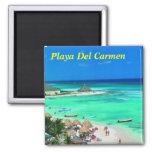 Imán del refrigerador del Playa del Carmen
