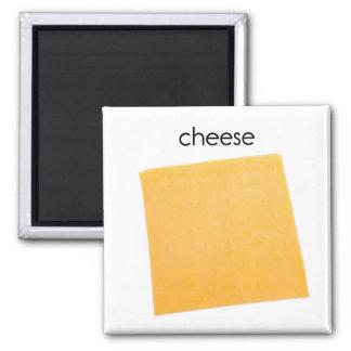 Imán del refrigerador del queso