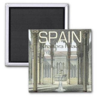 Imán del refrigerador del recuerdo de España del p