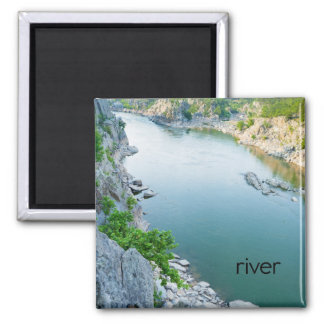 Imán del refrigerador del río