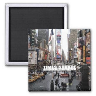 Imán del refrigerador del Times Square de New York