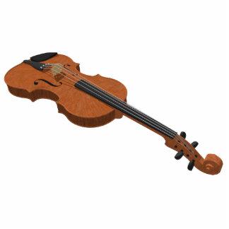 Imán del refrigerador Modelo del violín 3D Escul Escultura Fotográfica