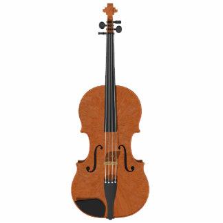 Imán del refrigerador Modelo del violín 3D Escul Esculturas Fotográficas