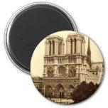 Imán del refrigerador - París, Notre Dame