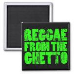 Imán del reggae del ghetto