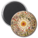 Imán del reloj de la flor de Blumenuhr