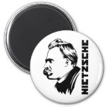 Imán del retrato de Frederich Nietzsche