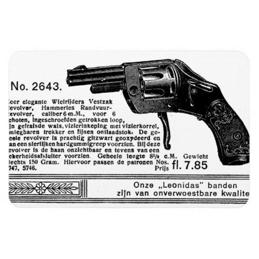 Imán del revólver de 1913 holandeses