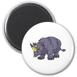 Imán del rinoceronte
