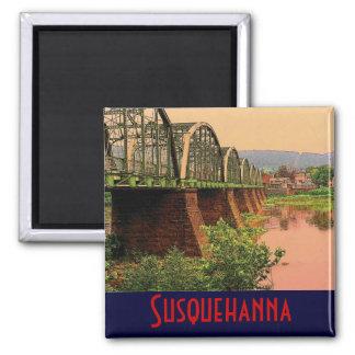 Imán del río Susquehanna