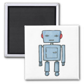 Imán del robot del juguete