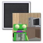 Imán del robot y de la PC