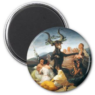 Imán del Sabat de las brujas de Goya