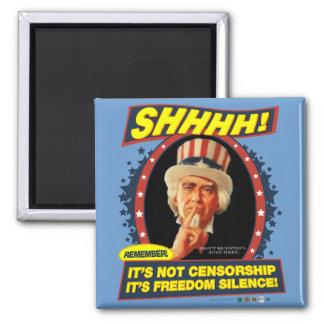 Imán del silencio de la libertad