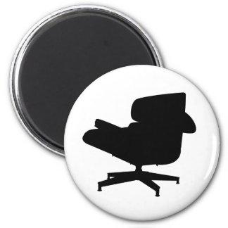 Imán del sillón de Eames