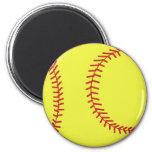 imán del softball