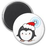 Imán del soplo del pingüino (más estilos)