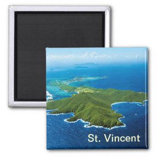 Imán del St. Vincent
