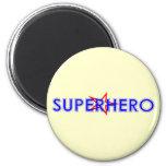 Imán del super héroe