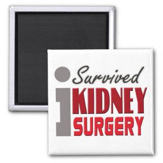 Imán del superviviente de la cirugía del riñón