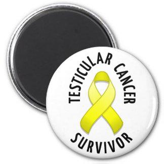 Imán del superviviente del cáncer testicular