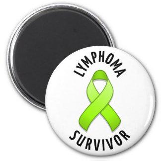 Imán del superviviente del linfoma
