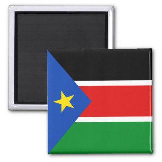 Imán del sur de la bandera de Sudán